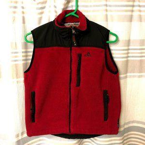 EMS Fleece Polartec Women's Small Vest Red